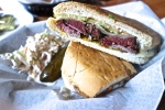 %22Jewban%22, Pastrami, Roast Pork, Pickles and Swiss