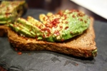 AVOCADO Toast | seeded whole wheat, chile, lemon & sea salt
